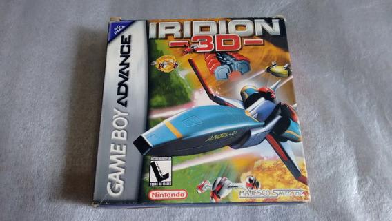 Iridion 3d E Pitfall Completo Para Game Boy Advance