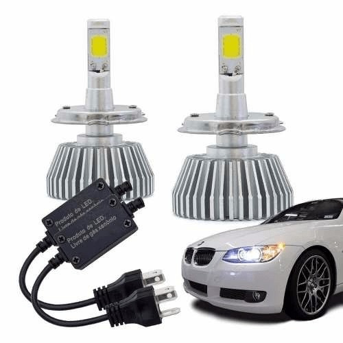 Kit Lâmpada Super Led Automotiva Multilaser H4 - 12v - 6200k