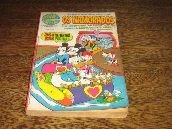 Disney Especial 1ª Edição Nº 22 Os Namorados Abril/1976