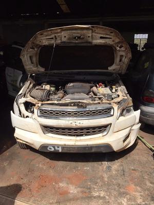 S10 Lt 2.8 4x4 2014 Aut Diesel Sucata Somente Pecas