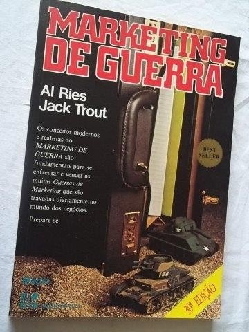 * Livro - Marketing De Guerra - Al Ries Jack Trout
