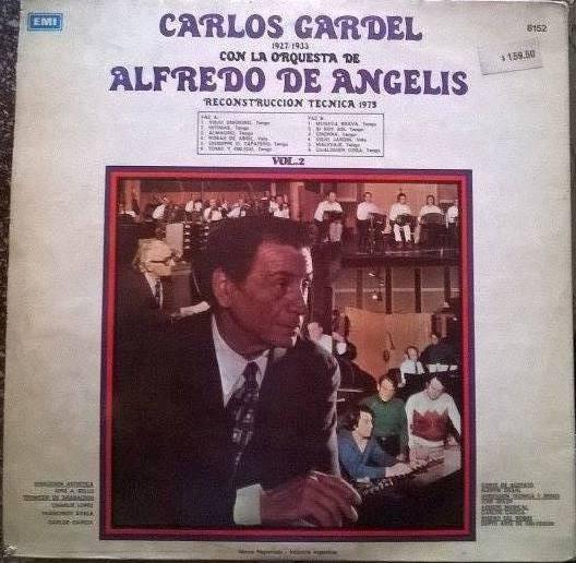 Disco Vinilo Carlos Gardel & Alfredo De Angelis