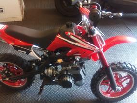 Cross Infantil 50cc De 2t Con Marcha, Nueva Con Garantia