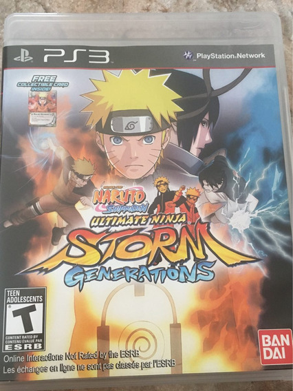 Naruto Shippuden Ultimate Ninja Storm Generations - Ps3