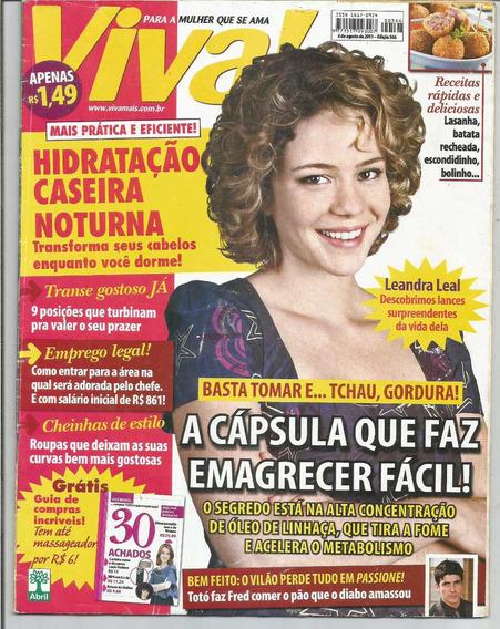 Revista - Viva Edição 566 - 6 De Agosto 2011.