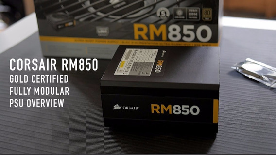 Corsair Rm850i Nueva 850watts 80plus Gold
