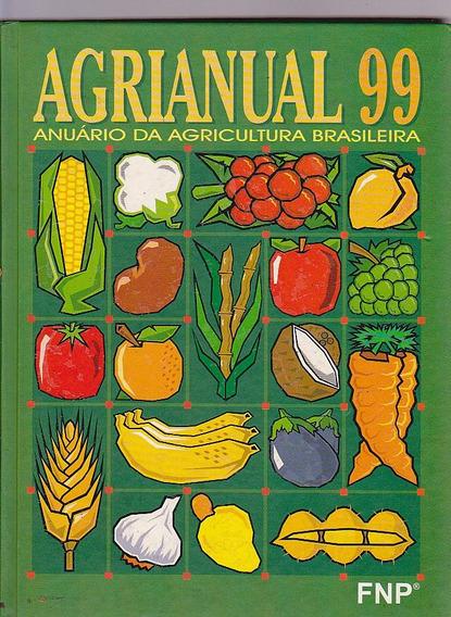Livro Agrianual Anuario Da Agricultura Brasileira - Ano 99