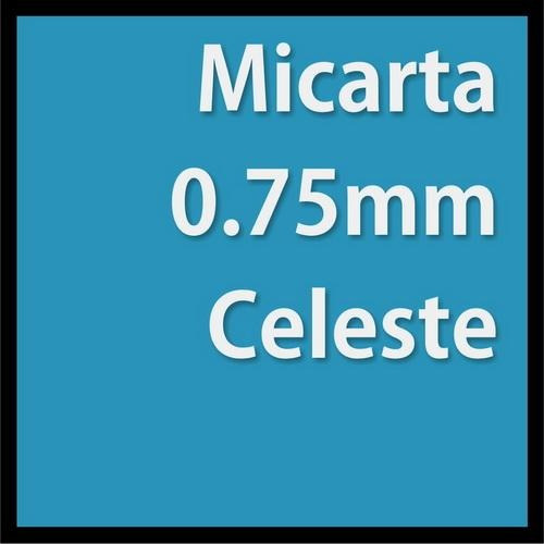 Micarta Peu Celeste 300mm X 240mm X 0.75mm