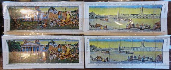 Estampillas 4 Bloques 1580 - Buenos Aires - 1980. 37527