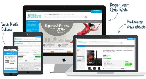 Loja Virtual Profissional Completa + Hospedagem + Bônus