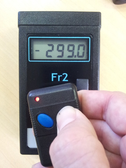 Frequencímetro P/ Controle Remoto / Identificador Chip Fr2