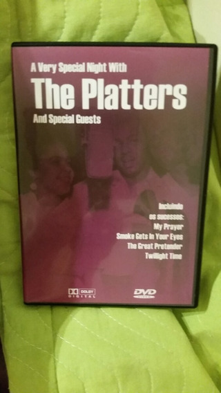 Dvd The Platters A Very Special Night With And Special Guest