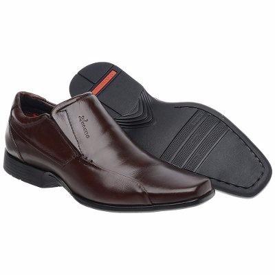 Sapato Masculino Forrado Confortável Solado Borracha Nevano