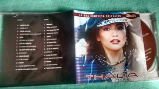 Thalia - La Más Completa Colección. 2 Cds