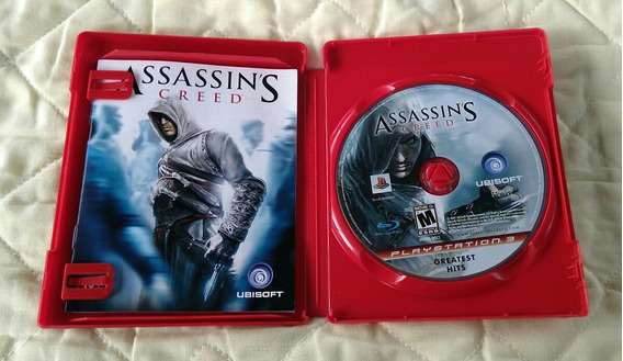 Assassins Creed Ps3 Midia Fisica Usado