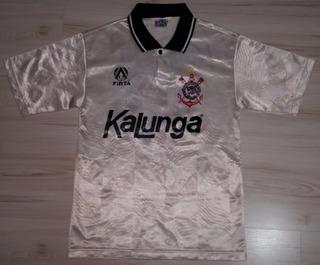 Camisa Do Corinthians 1992 Kalunga #10 Tamanho 12 Finta