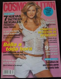 Revist Cosmopolitan Sharon Van Der Knapp Alejandro Fernández