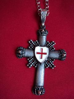 Cruz De Templarios Medieval Escudo