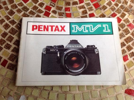 Catálogo Da Pentax Mv1 Em Espanhol 1979