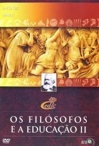 Dvd Karl Marx - Filosofia - Original + Brinde