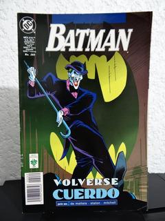 Batman # 269 Volverse Cuerdo 1 - Editorial Vid 1998