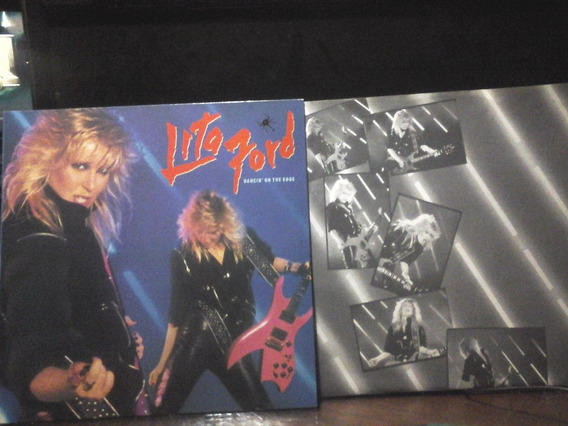 Lita Ford Dancin On The Edge Vinilo Usa