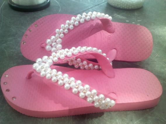 Sandalias Havaianas Customizadas
