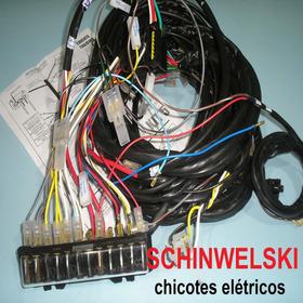 Chicote Eletrico Fusca + Caixa Fusível Instalação Esquemas