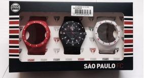 Relógio Technos Masculino Sao Paulo Oficial Sao2035ag/8p