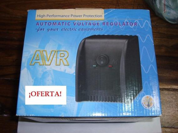 Regulador Auto Voltaje Avr Pc Laptop Contra Picos Corriente