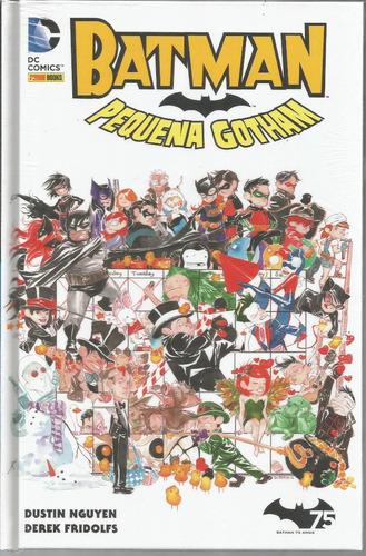 Batman Pequena Gotham 01 - Panini 1 - Bonellihq Cx106 I19
