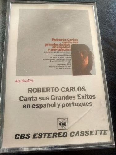 Cassette De Roberto Carlos -  Canta Grandes Exitos (337