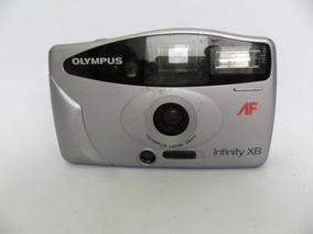 Câmera Máquina Fotográfica Antiga Olympus Af Infinity Xb