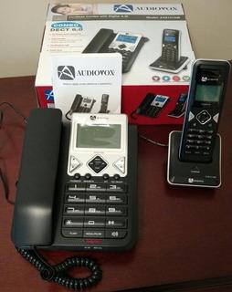 Audiovox Teléfono Alámbrico E Inalámbrico Dect6