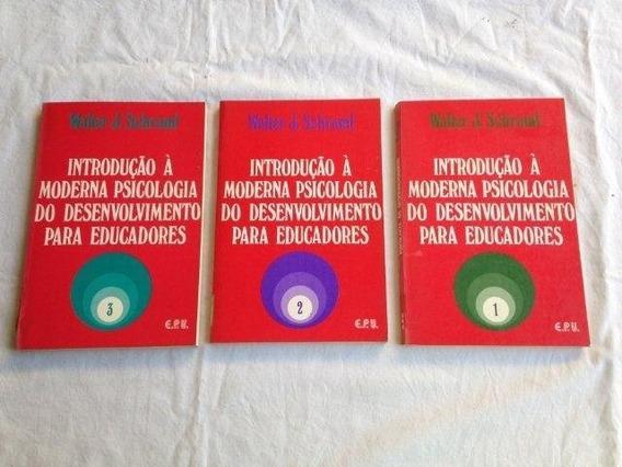 * Introdução À Moderna Psicologia Desenvolvimento 3 Volumes