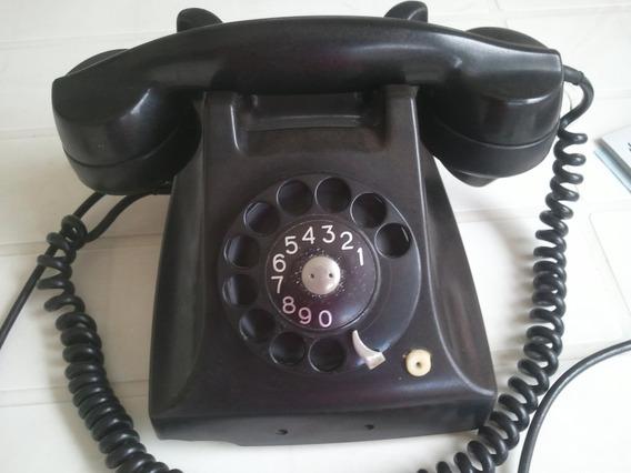 Telefone Ericsson - Todo Em Ferro - Anos 50/60 - Original