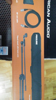 Mictofono Proline Mic Pack Kit Completo