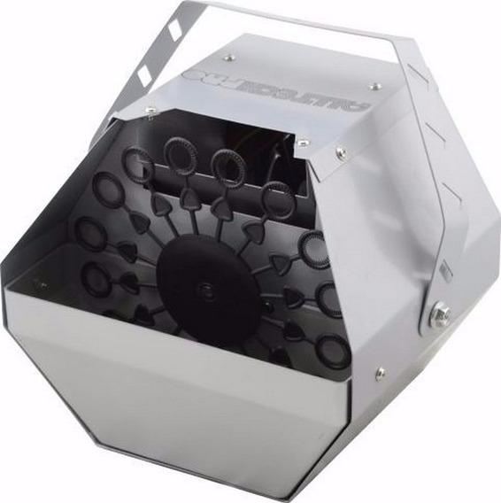 Maquina De Bolhas De Sabão 1 Disco Bi-volt Profissional Dj