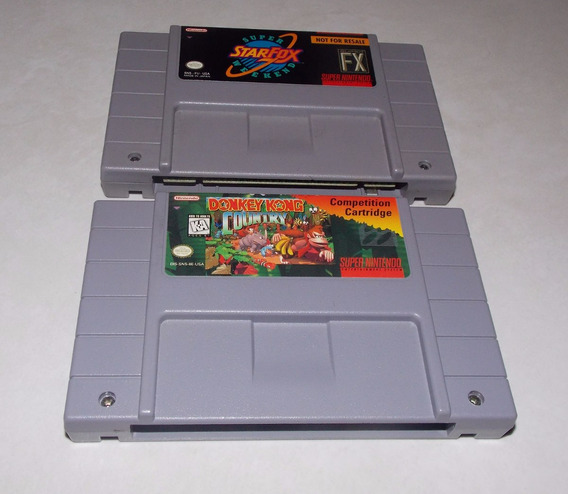 Donkey Kong Competition Oficial Snes S Graal Wow S Raro A+++