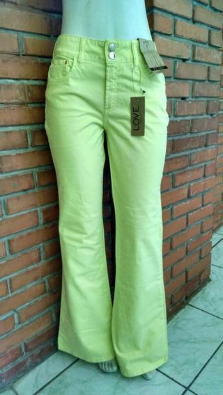 Calça Jeans Flare Retrô Tamanho Gg
