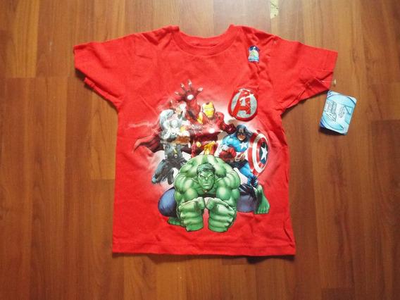 Playera Avengers 8 Años