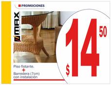 Piso Flotante Tabloncillo Bambú Duela Gypsum 2806664