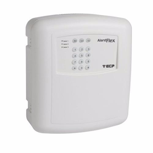 Central Alarme 3 Setores Alardflex 3 Ecp Sem Fio E Controle