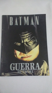 Batman - Guerra Ao Crime Hq Rara De Luxo Edição Unica