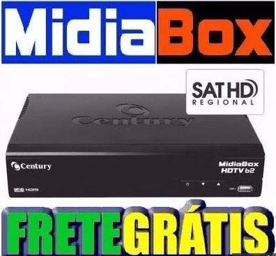 Midia Box Century + Lnbf Super Digital Multiponto Century