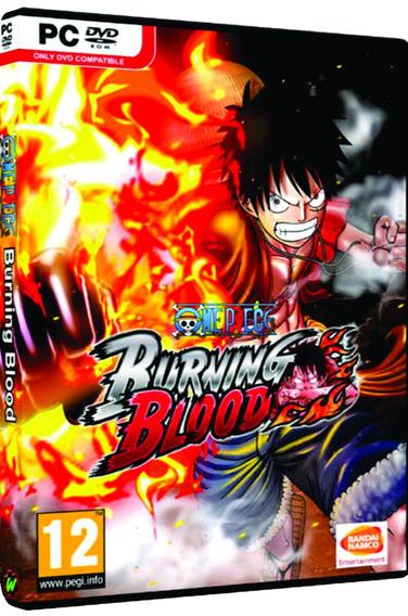 One Piece: Burning Blood - Pc Dvd Mídia Física Frete 8 Reais