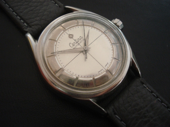 Relógio Suiço Certina Automático Antigo Coleção Especial