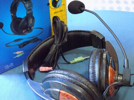 Fone De Ouvido Com Microfone.