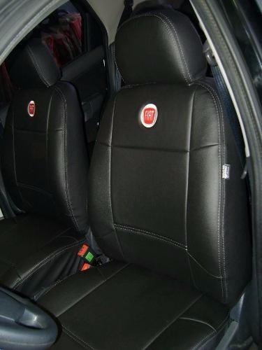 Capas Banco Carro 100% Couro Courvin Fiat Palio 95 96 97 98