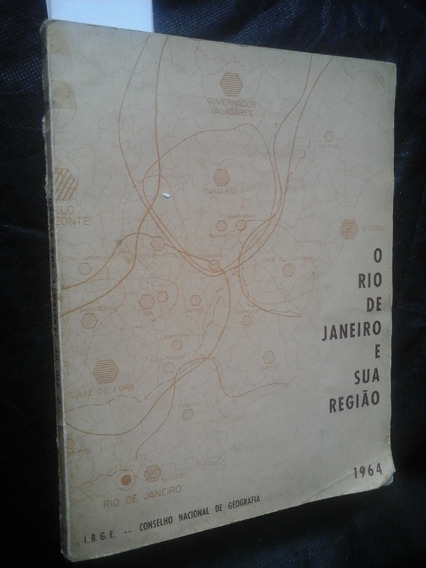 Raro Historia E Geografia Do Rio De Janeiro E Mapas 1964